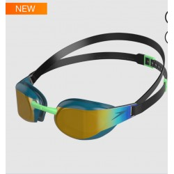 Occhialino Speedo FASTSKIN ELITE MIRROR Gold / green