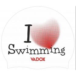 Cuffia VADOX I Love Swimming