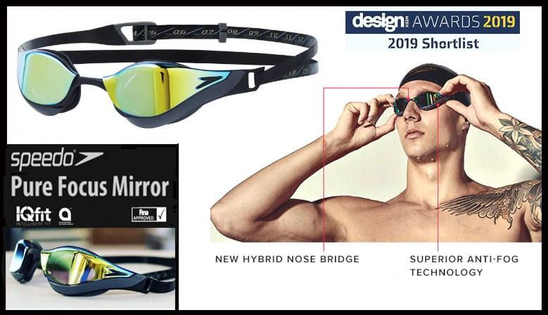 Occhialini Speedo Pure Focus Mirror